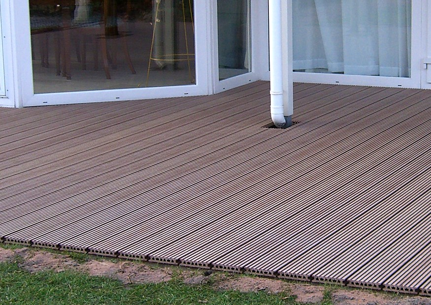 Terrassendielen Kunststoff Holz OB03 – Hitoiro